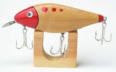 diy natural wood fishing lures - Google Search