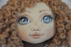 Коллекционные куклы ручной работы. Ярмарка Мастеров - ручная работа. Купить Аннушка 2. Handmade. Коричневый, хлопок