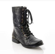 Love❤ #combat boots