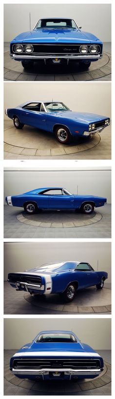 Visit The MACHINE Shop Café... ❤ Best of Dodge @ MACHINE ❤ (1969 Dodge Charger R/T Coupé)