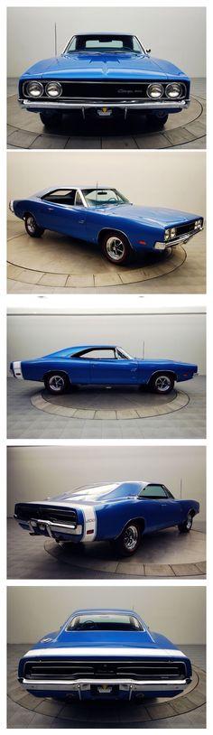 Visit The MACHINE Shop Café... ❤ Best of Dodge @ MACHINE ❤ (1969 Dodge Charger R/T Coupé)
