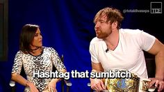 Dean Ambrose is known to be the Lunatic Fringe in WWE. In the ring, h… Baseball Scoreboard, Softball Jerseys, Wwe Birthday, Wrestling Memes, Baseball Buckets, Backyard Baseball, Wwe Dean Ambrose, Baseball Videos, The Shield Wwe