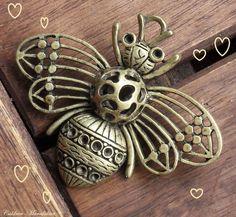 Weiteres - Biene XXL BRONZE ANTIK Honey Bee - ein Designerstück von Caldren bei DaWanda