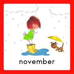 november School Jobs, Schedule Cards, Hello November, Working With Children, Schmidt, Diy For Kids, Cute Pictures, Homeschool, Classroom