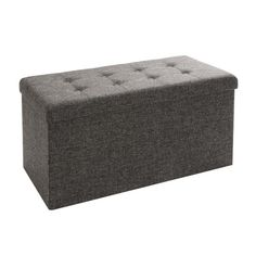 Found it at Wayfair - Tufted Foldable Storage Cube Ottoman