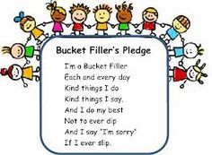 bucket filling activity sheets | Have You Filled a Bucket Today? | Mrs. Bee's Kiddies