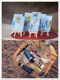 Hot Air Balloon Inspiration Shoot by Talitha A. Tarro Photography and Arlissa Vaughn on ArtfullyWed.com