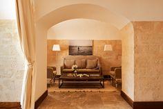 Private living room in Suite Cap Rocat #hotel #luxury #mallorca