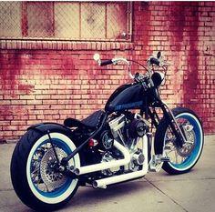 Bobber Inspiration | Harley custom bobber motorcycle