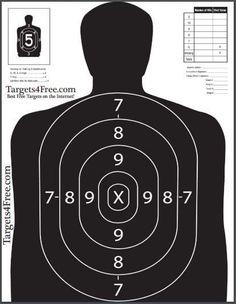 77 Best Free Printable Shooting Targets Images Shooting Targets