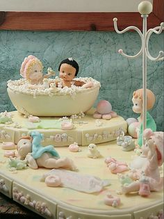 Evia digital. Porcelana fría. Fondant Baby, Cake Baby, Play Clay, Biscuits, Little Boy And Girl, Cute Clay, Fondant Tutorial, Inspiring Things, Pasta Flexible