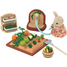 Sylvanian Family Vegetable Garden Set