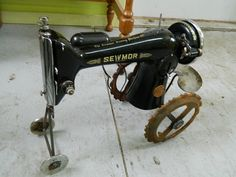 Singer Sewing Machine Tractor by Junkfx on Etsy, $200.00