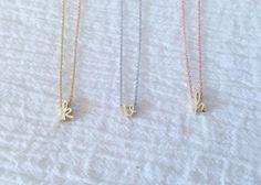 Minimal Necklace Minimalist necklace Simple Necklace Silver Everyday Necklace