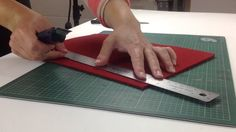 Working on a felt project and need to cut some felt? This video explains how to cut Designer Felt from The Felt Store!