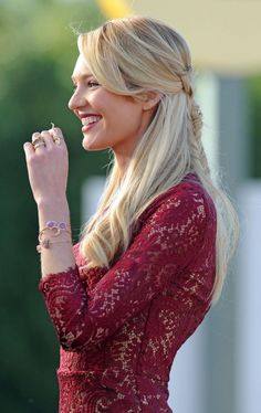 One Last Bit of Victoria's Secret Beauty Inspiration Before the Big Show: Candice Swanepeol's Awesome Braided Hairstyle