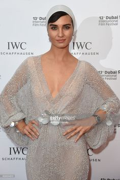 Tuba Buyukustun, Turkish actress and IWC Brand Ambassador, attends the fifth IWC Filmmaker Award gala dinner at the 13th Dubai International Film Festival (DIFF), during which Swiss luxury watch manufacturer IWC Schaffhausen celebrated its long-standing passion for filmmaking at One And Only Royal Mirage on December 8, 2016 in Dubai, United Arab Emirates.