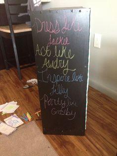 Chalkboard paint has dried :)