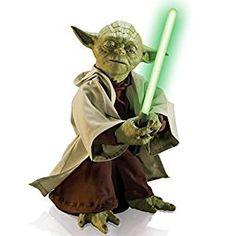 Amazon.com: Star Wars Legendary Jedi Master Yoda (Discontinued by ...