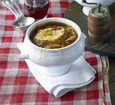 French onion soup recipe - Recipes - BBC Good Food
