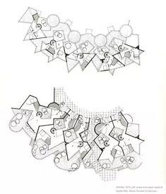 Duplex - Vitrolles New Town - Les Gorges de Cabriès - France - 1974 - Jean Renaudie Architecture Drawings, Beautiful Architecture, Art And Architecture, Architecture Details, Geometry Architecture, Exhibition Plan, Exhibition Space, Module Design, Design Lab