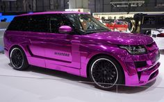 Hamann Range Rover Adds Big Pop of Color at Geneva Show - WOT on Motor Trend