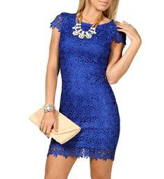 Marissa-Blue Prom Dress -- if only it were a little bit longer...