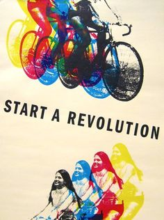Start A Revolution: don't just stand idly by