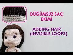 Pearl Doll - Part 3 (Amigurumi Doll Making - Amigurumi Doll . - Toys For Boys - Amigurumi Toys, Amigurumi Patterns, Doll Patterns, Crochet Doll Pattern, Crochet Dolls, Crochet Baby, Baby Pearls, Amigurumi Tutorial, Doll Parts
