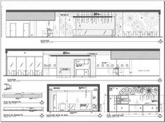 Modern Kitchen Elevation kitchen and breakfast elevation drawing: final ~ kristi lei