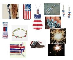 """""""July 4th outfit at night"""" by melissaed ❤ liked on Polyvore featuring interior, interiors, interior design, home, home decor, interior decorating, Wildflower, American Eagle Outfitters, Kate Spade and Wilton"""