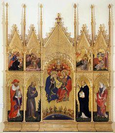https://ru.wikipedia.org/wiki/Джентиле_да_Фабриано. «Коронование Марии», Пинакотека Брера