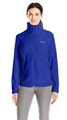Columbia Women's Fast Trek II Full-Zip Fleece Jacket Coats For Women, Jackets For Women, Thing 1, Columbia Jacket, Trek, Adidas Jacket, Hooded Jacket, Zip, Fitness