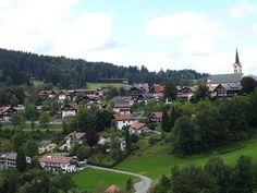 Blick auf meinen Urlaubsort #Oberstaufen