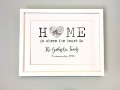 Can be personalised to suit your particular needs Os Maps, Fathers Day Cards, New Home Gifts, Where The Heart Is, Special Gifts, Anniversary Gifts, Wedding Gifts, Unique Gifts, Etsy Seller