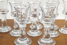 12 Vintage Holmegaard Ships Schnapps Glasses by Per Lutken (1916-1998)