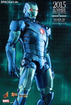 Iron Man: Mark III - Stealth Mode Version   Deluxe-Figur (voll beweglich)   Hot Toys   https://spaceart.de/produkte/irm028.php