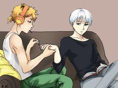 Lmao! That's cute ^^