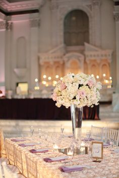 #Wedding Tables | Wedding Decor | See the wedding on #SMP Weddings: http://www.stylemepretty.com/2012/12/28/la-wedding-from-fresh-events-company-esther-sun-photography/  Esther Sun Photography
