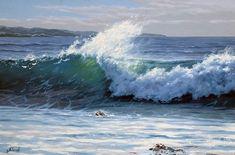 "Adamow Alexis ~ ""'The Mediterranean Sea"" ~ Oil on Canvas 2012"
