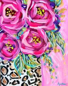 Leopard and Rose Original Painting on Canvas – Audra Style Art Oil Painting Basics, Simple Oil Painting, Easy Canvas Painting, Oil Painting For Sale, Painting Classes, Chihuahua Art, Christmas Paintings, Paint Pens, Art Drawings