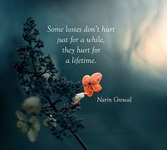 Some losses don't hurt ...