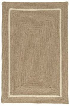 Shear Natural Wool Rug by COLONIAL MILLS. $277.60. Durable. 100 eco-natural Wool. Reversible. Shear Natural Wool Rug. Bold & Green! Go green and spruce up your earth friendly decorating with this sharp contoured rectangle in 100% un-dyed, eco-natural wool. Reversible for twice the wear. Made in the USA.