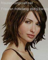 Frisuren Mittellang Stufig Fransig Hair In 2019 Schulterlange