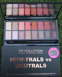New-trals vs Neutrals eyeshadow palette by makeup revolution