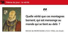 Aujourd'hui, #citations sur la #vérité : de quoi alimenter une copie du #Bac #philo #histoire de #France en #citations