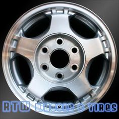 """Awesome GMC 2017: GMC Savana Van wheels for sale 2003-2008. 16"""" Machined Silver rims 5073 - www.rt... Check more at http://cars24.top/2017/gmc-2017-gmc-savana-van-wheels-for-sale-2003-2008-16-machined-silver-rims-5073-www-rt/"""