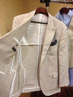 Unlined suit / Men's Fashion