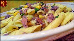 Pasta con tonno mais e paté di olive 01