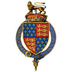 Royal Arms of Edward III, King of England (Founder of the Order)